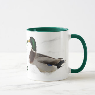 Ducks in Snow Lord Love a Duck Mug