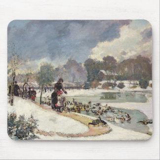 Ducks in the Bois de Boulogne Mouse Mat