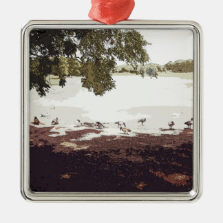 Ducks.jpg Christmas Ornament