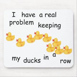 Ducks Mousepad