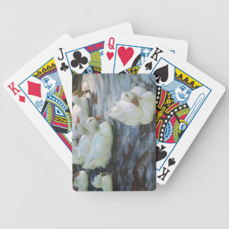 Ducks on a Pond Bicycle Playing Cards