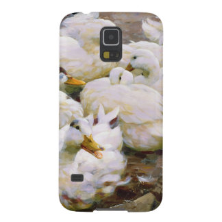 Ducks on a pond galaxy s5 covers