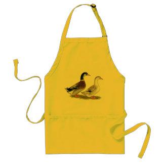 Ducks:  Silver Appleyard Standard Apron