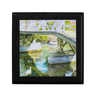 Ducks Under a bridge Gift Box