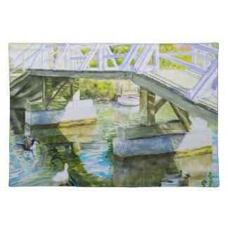 Ducks Under a bridge Placemat