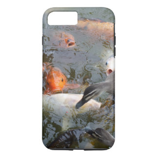 Ducks Vs Koi - Phone Case