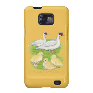 Ducks White Muscovy Family Samsung Galaxy SII Case