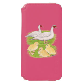 Ducks White Muscovy Family Incipio Watson™ iPhone 6 Wallet Case