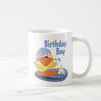 Ducky Cutie Birthday Boy Coffee Mugs