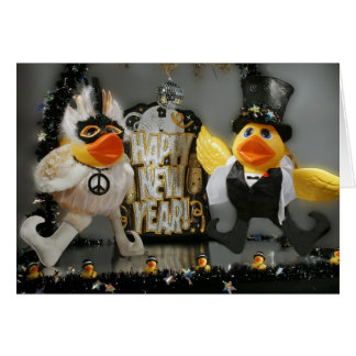 Ducky New Year! Greeting Card