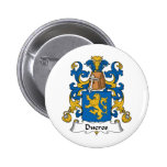 Ducros Family Crest Buttons
