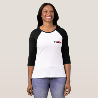 Ducs.ca Girls Baseball Tee