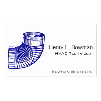 Duct Elbow Pack Of Standard Business Cards