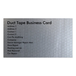 Duct Tape Business Card