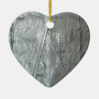 Duct Tape Love Christmas Ornament