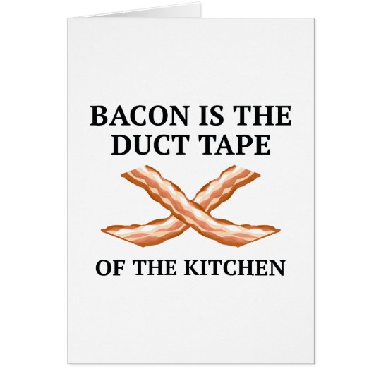 Duct Tape Of The Kitchen Card