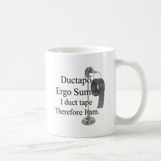 DuctTapo Classic White Coffee Mug