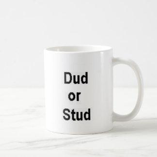 Dud or Stud Basic White Mug