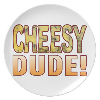 Dude Blue Cheese Dinner Plates