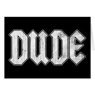 Dude Card