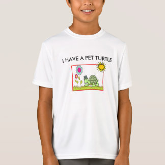 """DUDE"" PET TURTLE SPORT-TEK BOY'S T-SHIRT"