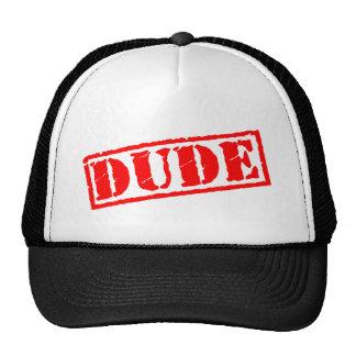 Dude Stamp Trucker Hat