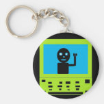 dude stck in laptop keychain