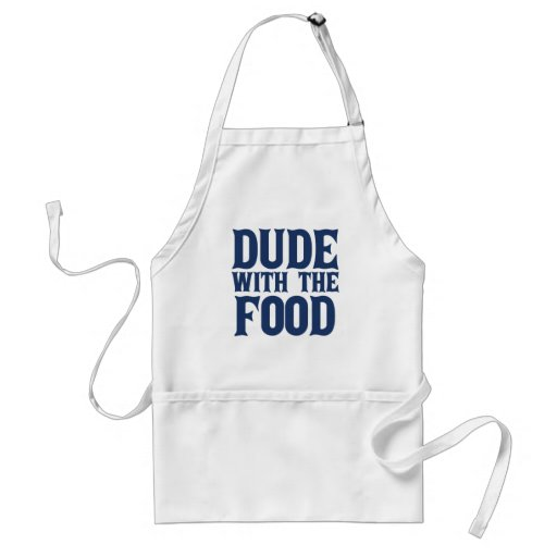 Dude With The Food Blue Apron