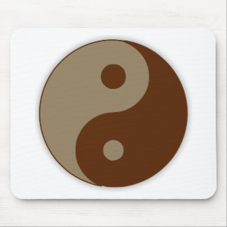 Dudeism Ying Yang Mouse Pad