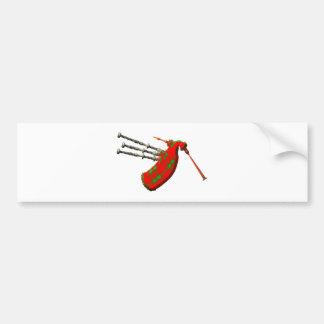 Dudelsack bagpipe bumper sticker