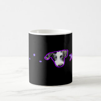 """Dudley Collection"" Purple/Black Mary Coffee Mug"
