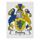 Dudley Family Crest Poster