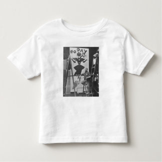 Dudley Hardy painting a poster Toddler T-Shirt