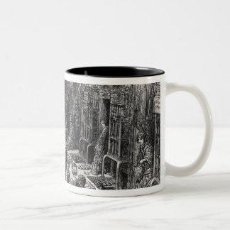 Dudley Street, Seven Dials Two-Tone Coffee Mug