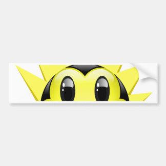 Dudu Bee Exited Bumper Sticker
