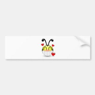 Dudu Bee in Love Bumper Sticker