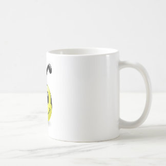 Dudu Bee Smiley Basic White Mug