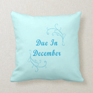 Due In December Birthstone American MoJo Pillow Throw Cushions