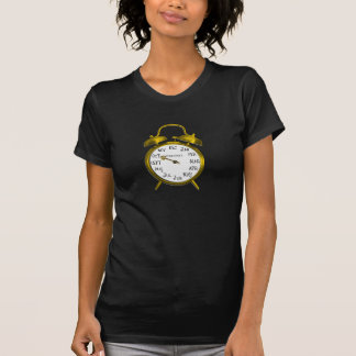Due in October Gold Alarm Clock Maternity Shirt 1