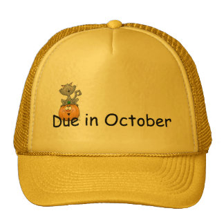Due In October Trucker Hats