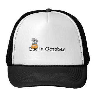 Due In October Hats