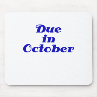 Due in October Mouse Pads