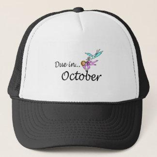 Due In October Stork) Trucker Hat