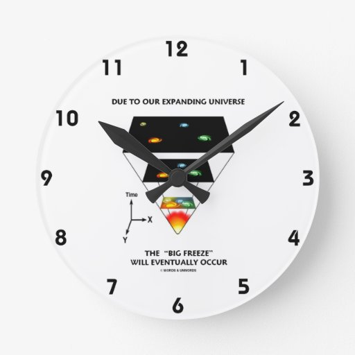 Due To Our Expanding Universe Big Freeze Occur Wallclock