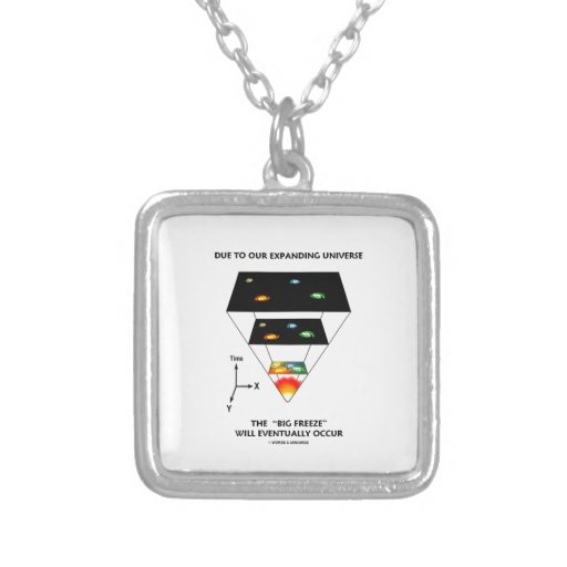Due To Our Expanding Universe Big Freeze Occur Personalized Necklace