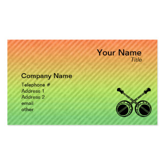 Dueling Banjos Business Card Template