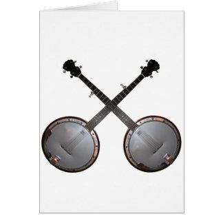 Dueling Banjos Greeting Card