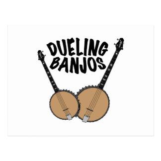 Dueling Banjos Postcard