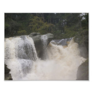 Dueling Falls Photographic Print