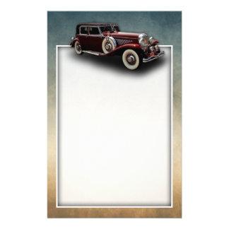 Duesenberg (Duesy) Model J Classic Car Stationery Paper